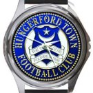 Hungerford Town FC Round Metal Watch