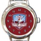 Galway United FC Round Italian Charm Watch