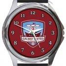 Galway United FC Round Metal Watch