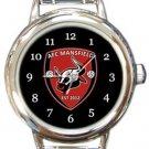 AFC Mansfield Round Italian Charm Watch