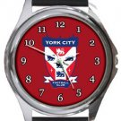 York City FC Round Metal Watch