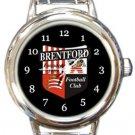 Brentford FC Round Italian Charm Watch