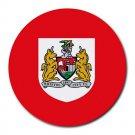 Bristol City FC Heat-Resistant Round Mousepad