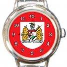 Bristol City FC Round Italian Charm Watch
