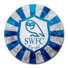 Sheffield Wednesday FC Heat-Resistant Round Mousepad