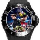 Avengers Infinity War Plastic Sport Watch In Black
