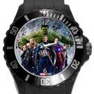 The Avengers Team Plastic Sport Watch In Black