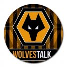 Wolverhampton Wanderers Football Club Heat-Resistant Round Mousepad