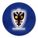 AFC Wimbledon Heat-Resistant Round Mousepad