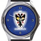 AFC Wimbledon Round Metal Watch
