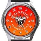 Blackpool Football Club Round Metal Watch