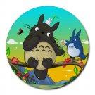 Totoro Heat-Resistant Round Mousepad