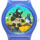 Totoro Blue Plastic Watch