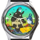 Totoro Round Metal Watch