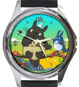 Totoro Round Metal Watch