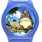 My Neighbor Totoro Blue Plastic Watch