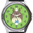 Cute Totoro Round Metal Watch