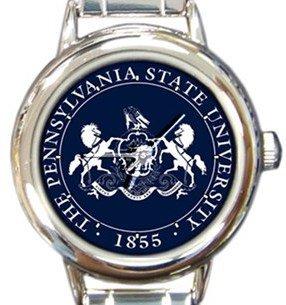 Pennsylvania State University Round Italian Charm Watch
