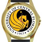 University of Central Florida Gold Metal Watch