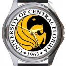 University of Central Florida Round Metal Watch