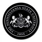 Pennsylvania State University Logo Heat-Resistant Round Mousepad