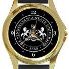 Pennsylvania State University Gold Metal Watch
