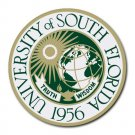 University of South Florida Heat-Resistant Round Mousepad