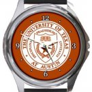 The University of Texas at Austin Round Metal Watch