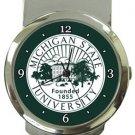 Michigan State University Money Clip Watch