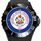 Georgia State University Plastic Sport Watch In Black