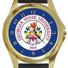 Georgia State University Gold Metal Watch