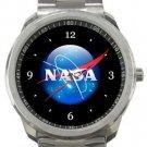 NASA Logo Sport Metal Watch
