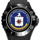 Central Intelligence Agency CIA Logo Plastic Sport Watch In Black