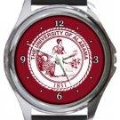 The University of Alabama Round Metal Watch