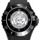 University of Illinois Plastic Sport Watch In Black