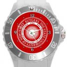 Rutgers The State University of New Jersey Plastic Sport Watch In White