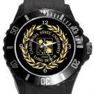 California State University Long Beach Plastic Sport Watch In Black