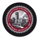 California State University Chico Heat-Resistant Round Mousepad