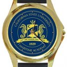 California State University Maritime Academy Gold Metal Watch