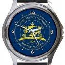 California State University Maritime Academy Round Metal Watch
