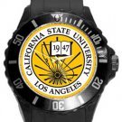 The California State University Los Angeles Plastic Sport Watch In Black