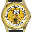 The California State University Los Angeles Gold Metal Watch