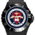 California State University Fresno Plastic Sport Watch In Black