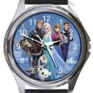 Frozen Round Metal Watch