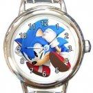 Super Sonic Round Italian Charm Watch
