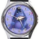Funny Eeyore Round Metal Watch