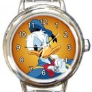 Donald Duck Round Italian Charm Watch