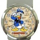 Classic Donald Duck Money Clip Watch