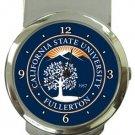 California State University Fullerton Money Clip Watch