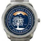 California State University Fullerton Sport Metal Watch